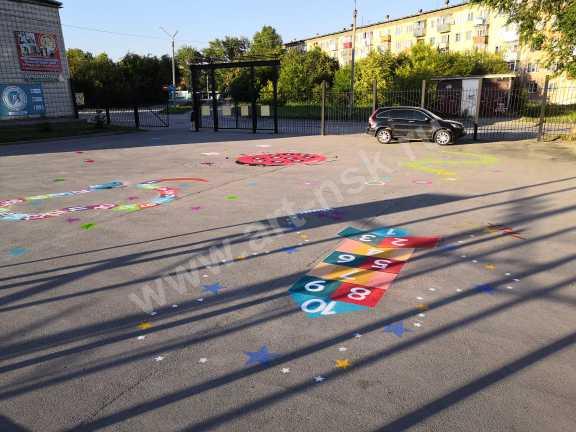 Детская игровая площадка в спортивном центре. Совместный проект. Graffiti Arena и Clever_Art54